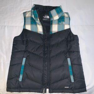 north face women's 550 puffer vest